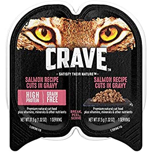 7. Crave Grain Free High Protein Wet Cat Food