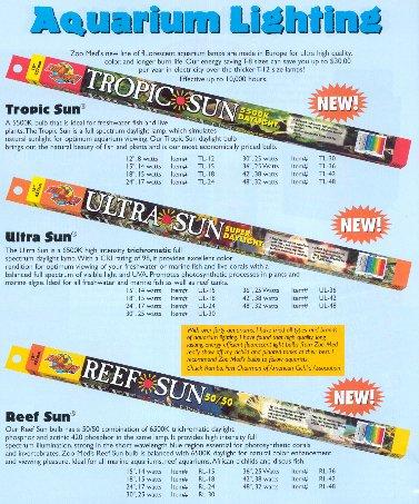 ZooMed Ultra Sun Trichromatic Super Daylight 6500K Fluore...