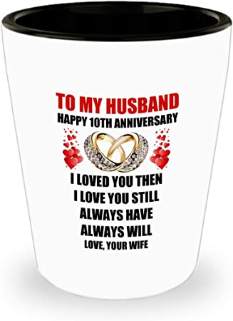 Amazon Com 10 Year 10th Wedding Anniversary Marriage Gift For