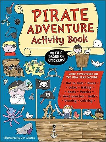 Descargar Libro Gratis Pirate Adventure Activity Book Leer PDF