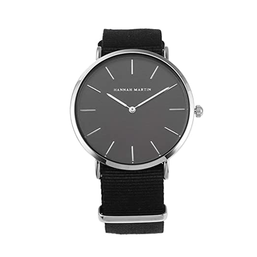 Moda para Hombre para Mujer Reloj de Cuarzo Hannah Martin CH02 Reloj de Pulsera Unisex Reloj Deportivo Informal Diseño Simple Reloj de Pulsera - Nylon ...
