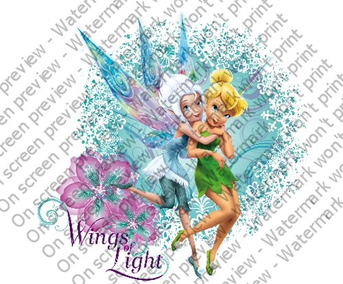 Disney Fairies Wings of Light Edible Cupcake Toppers Decoration