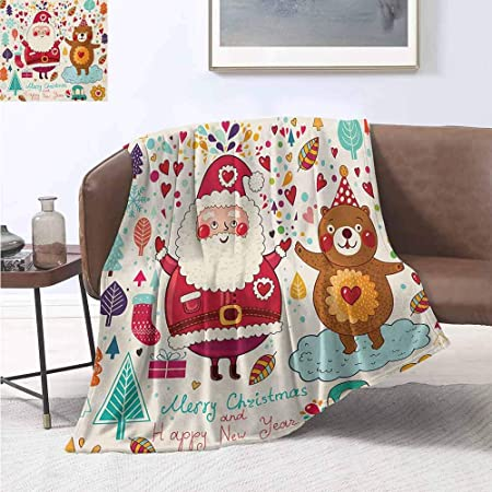 jecycleus - Manta Grande y cómoda para Navidad, diseño de Papá ...