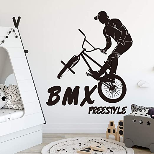 haochenli188 Gran Deporte Extremo BMX Bicicleta Pared Pegatina ...
