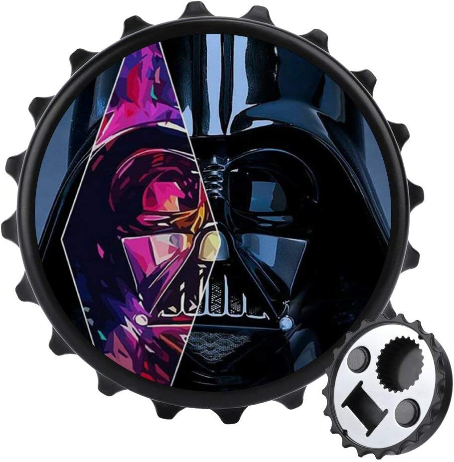 Creative Bottle Opener Fridge Magnet, Special Star War Multipurpose Home and Office Decoration Magnetic Sticker