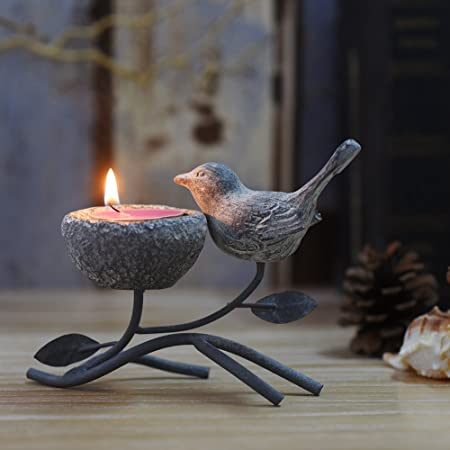Metallic Votive Candle Holders, Decorative TeaLight Candle Stands ...