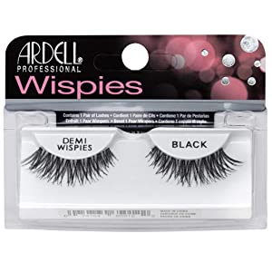 Ardell False Eyelashes Demi Wispies Black, 4 pairs
