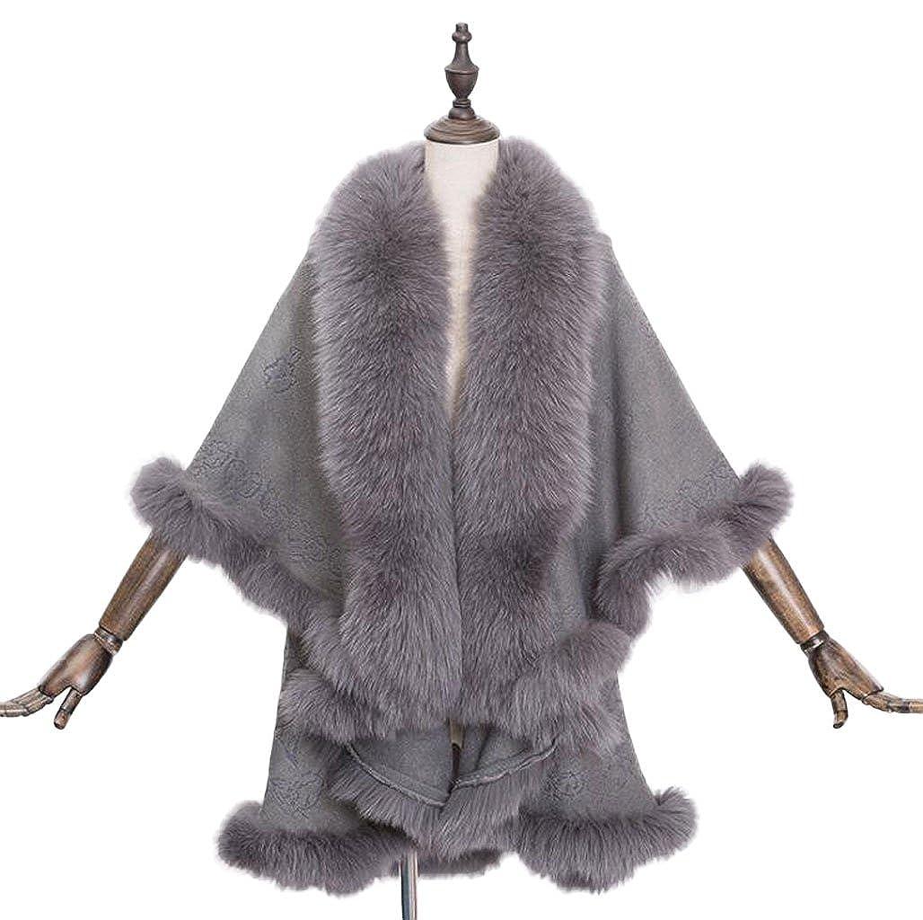 Lange Strickjacke Damen Gewickelt Mantel Abschnitt Weiblich y0vmnwN8O