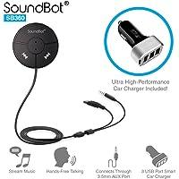 SoundBot SB360 Car Bluetooth Adapter (Black)