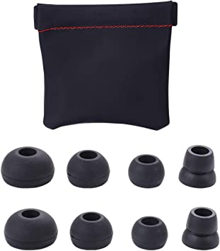 4 Pairs Replacement Eartips for Powerbeats 1 Grey 2 /& 3 by dre headphones