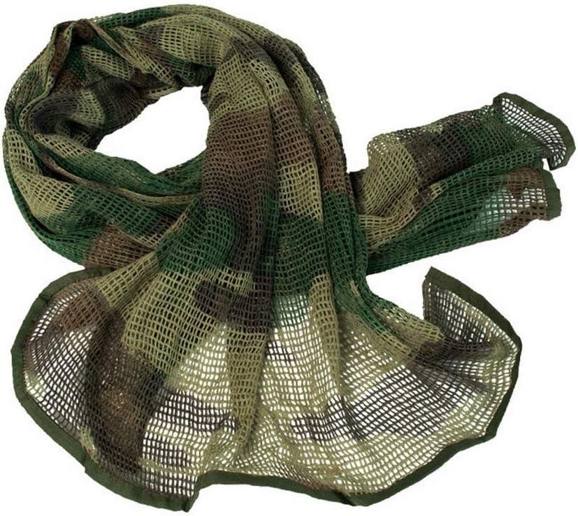 PURECITY Filet Echarpe de Protection Camouflage Militaire 190 cm x 90 cm Diff/érents Coloris Chasse Photo Photographie P/êche
