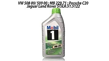 Mobil 1 Aceite de Motor, 1 l, ESP X2 0W-20