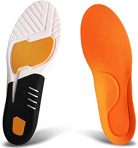 High quality T 22 sports gel insoles for impact sports  gym running hiking
