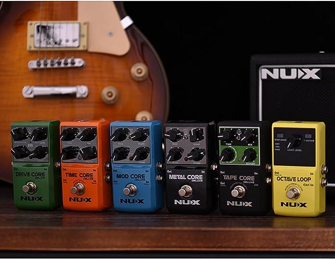 Fesjoy efecto guitarra TIME CORE DELUXE Electric Guitar Digital ...
