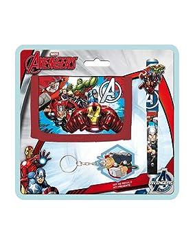 Avengers AS9783 Blister Billetero + BOLI + Llavero