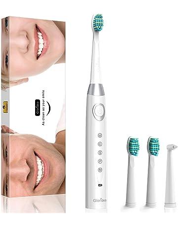Cepillo de dientes eléctrico sónico Gloridea - 5 Modos y 3 Cabezal de Recambio -Temporizador