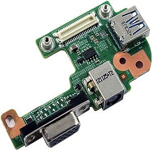 Dell Inspiron M5110 MPH7J DC Jack USB 3.0 VGA Board 48.4IE06.021 N5110 Vostro 3555