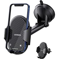 UGREEN Windscreen Car Phone Holder Suction Cup Dashboard Mount Air Vent Mobile Clamp Cradle Long Arm Compatible with…
