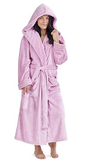 5a63ce17b9a3f Dames Robe de Chambre Pingouin Owl Femmes Robes Robe en Peluche Nouveauté  Animal Hood Super Soft
