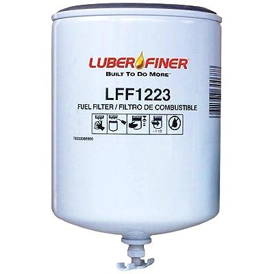 Luber-finer LFF1223 Heavy Duty Fuel Filter: Automotive