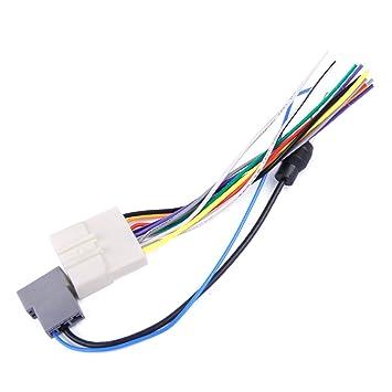 Amazon com: beler Car DVD Radio Install Stereo Wire Harness