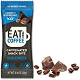 Caffeinated Coffee Bites, Eat Your Coffee Energy Bar | Cocoa Espresso | Tasty Caffeinated and Natural Snack | Ethically…