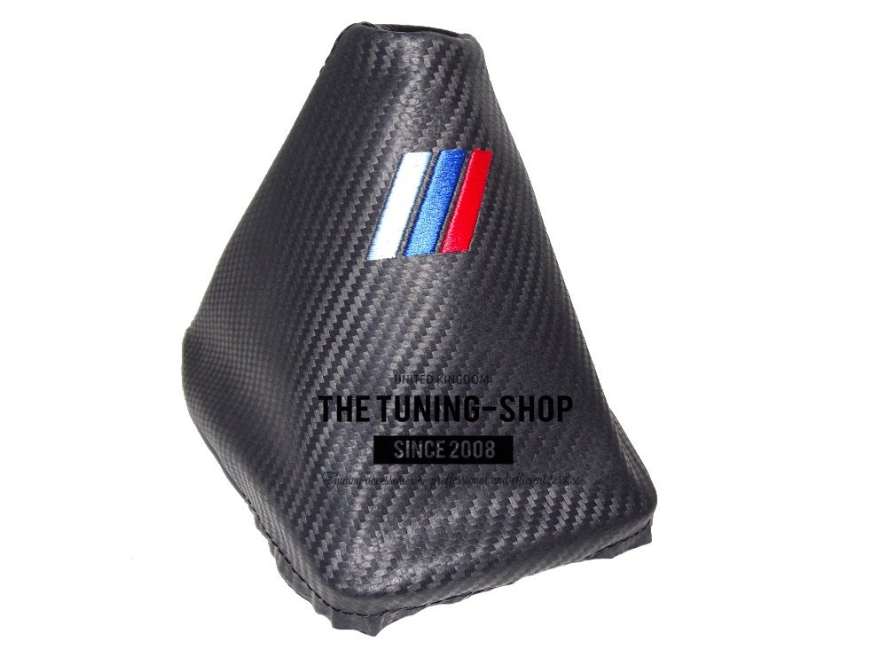 Shift Boot For BMW Series 3 E36 E46 1991-05 With Plastic Frame Leather M3 Stitch