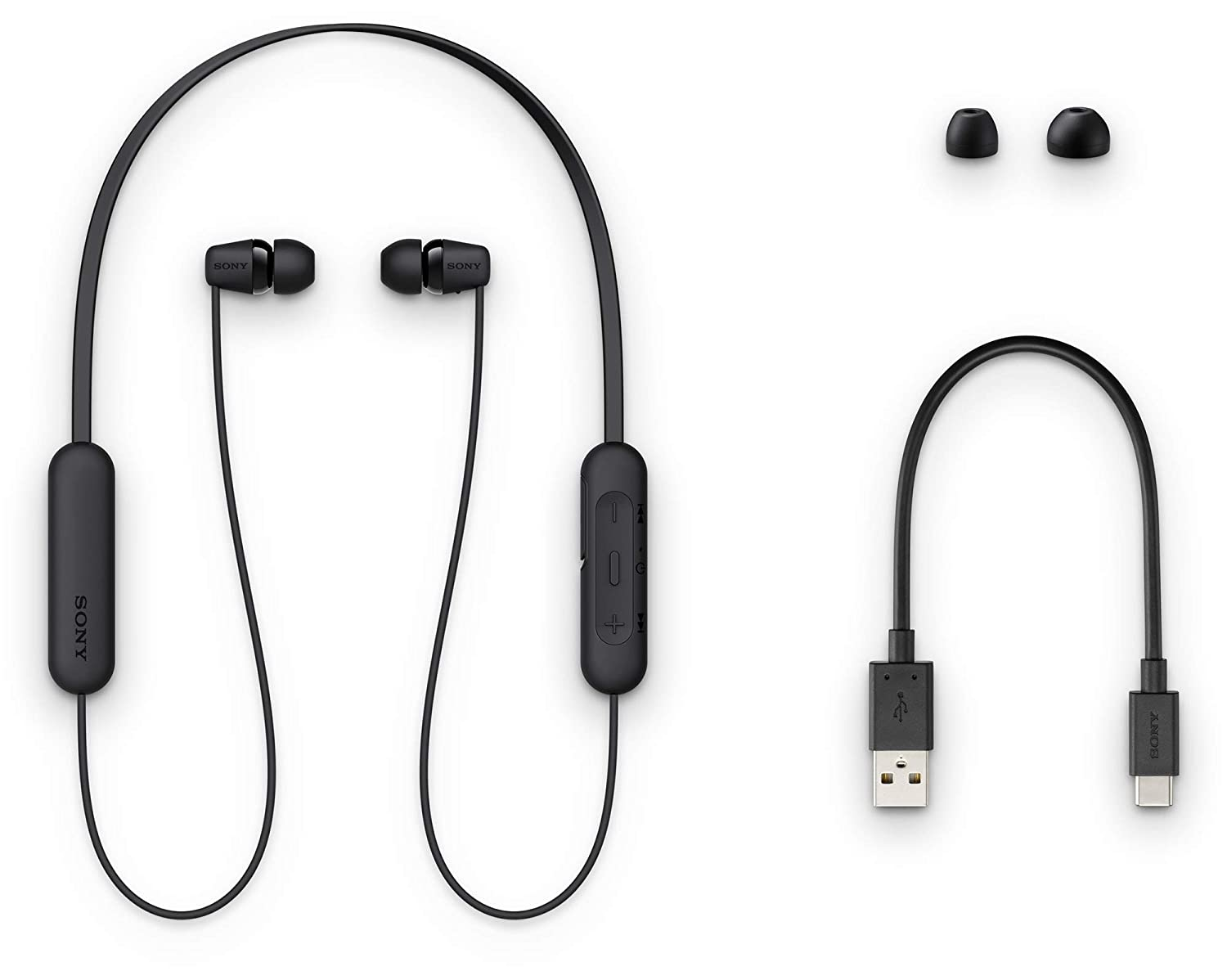 ony WI-C200 Wireless In-Ear Headphones with 15 Hours Battery Life