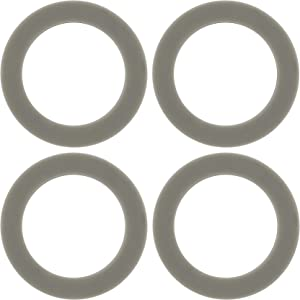 4 Pack O-ring Gasket Blenders Seal, 66mm/2.6inch Rubber Sealing Replacement Part for Black & Decker Models BL1900 BL3900 BL4900 BL5000 BL5900 BL6000