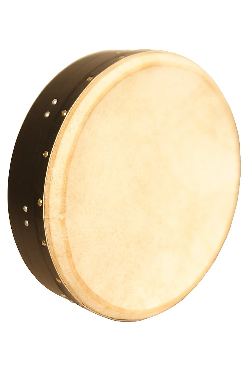 Roosebeck BTN4B Inside Tunable Bodhran with Single Removable Bar, 14 x 3.5 Inches