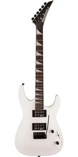 Amazon.com: Jackson JS22 Dinky DKA Electric Guitar Snow White: Musical Instruments
