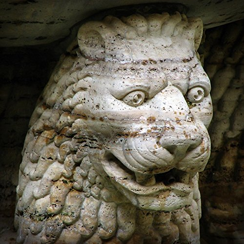 Home Comforts LAMINATED POSTER Head Lion Lion Head Gargoyle Fountain Stone Face Poster 24x16 Adhesive Decal by Home Comforts