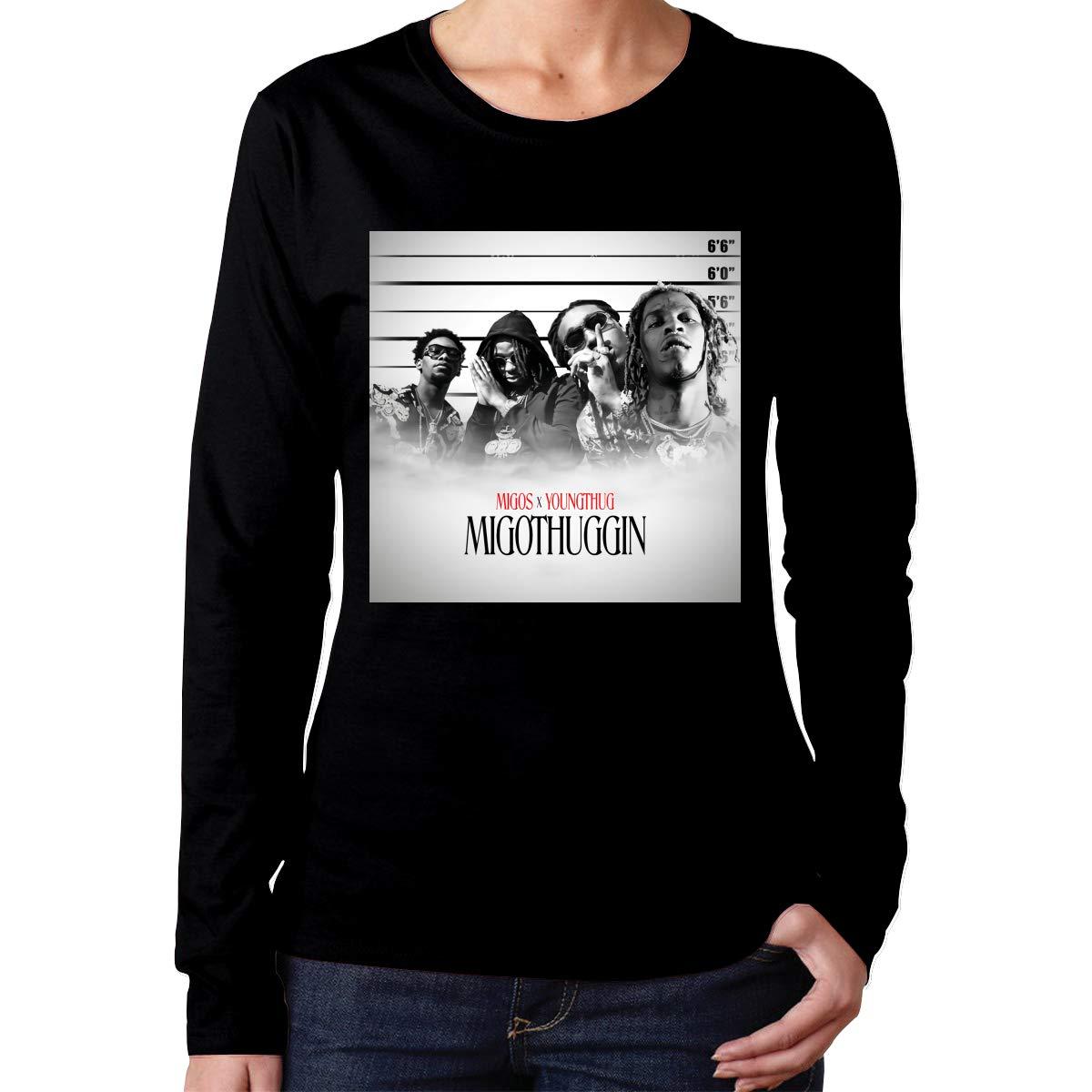 Maria D Miller Migos Migothuggin Women S Soft Casual Shirts