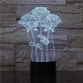 Lámpara de mesa táctil wangZJ Lámpara de mesa de repuesto de 7 ...