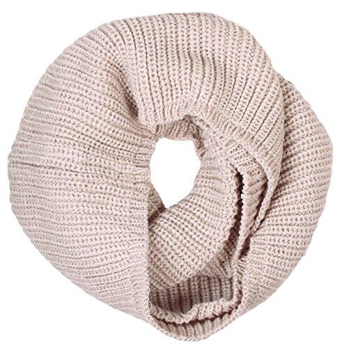 Simplicity Womens Crochet Winter Infinity