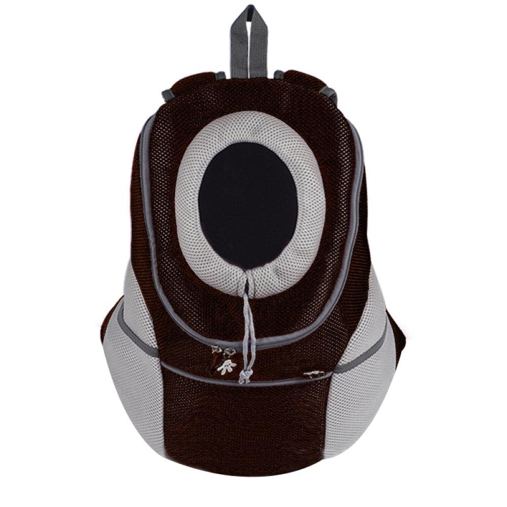 Black X-Large Black X-Large XCJ WLQ Pet Backpack Out Shoulder Bag Dog Carrier Bag Large Chest Dog Cat Bag