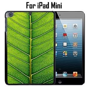 Fresh Green Leaf Custom Case/ Cover/Skin *NEW* Case for Apple iPad Mini - Black - Plastic Case (Ships from CA) Custom Protective Case , Design Case-ATT Verizon T-mobile Sprint ,Friendly Packaging - Slim Case