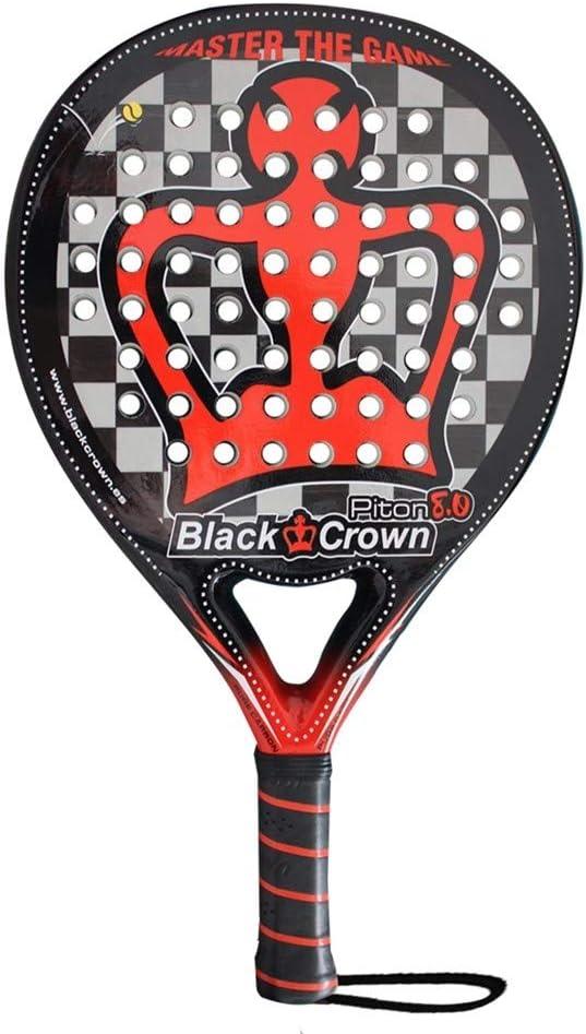 Pala de Pádel Piton 8.0 | Black Crown | Black Crown | Nivel: Avanzado, Competición, Profesional | Potencia 95%, Control 90%