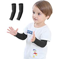 Newbyinn 1 or 3 Pairs Arm Sleeves for Kids Child Toddlers, UV Sun Protection, Cooling Sleeves to Cover Arms