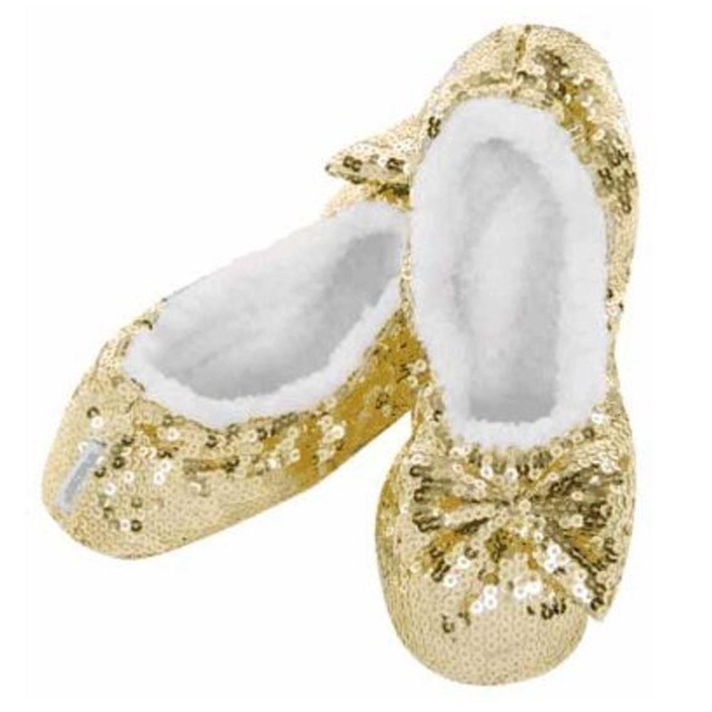 Womens Ladies Snoozies Slippers Non Slip Footies Foot Coverings 36503 - Aqua