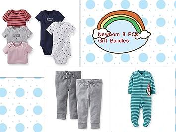 Newbron baby boy 8 piece clothes gift sets bundlebaby shower newbron baby boy 8 piece clothes gift sets bundlebaby shower gifts bundle negle Images