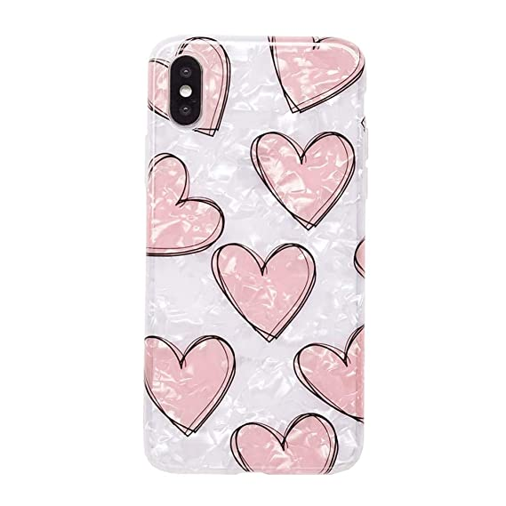 iphone xs max case love heart
