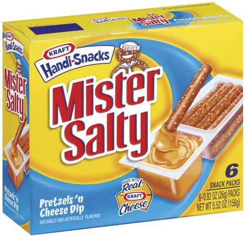 Mr Salty Pretzels n' Cheese Dip, 5.5 oz For Sale