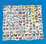300 Piece Lot of Assorted Kids Temporary Tattoos #Z1034