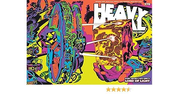 Lord of Light Wraparound Variant Cover HEAVY METAL Magazine #276 B JACK KIRBY