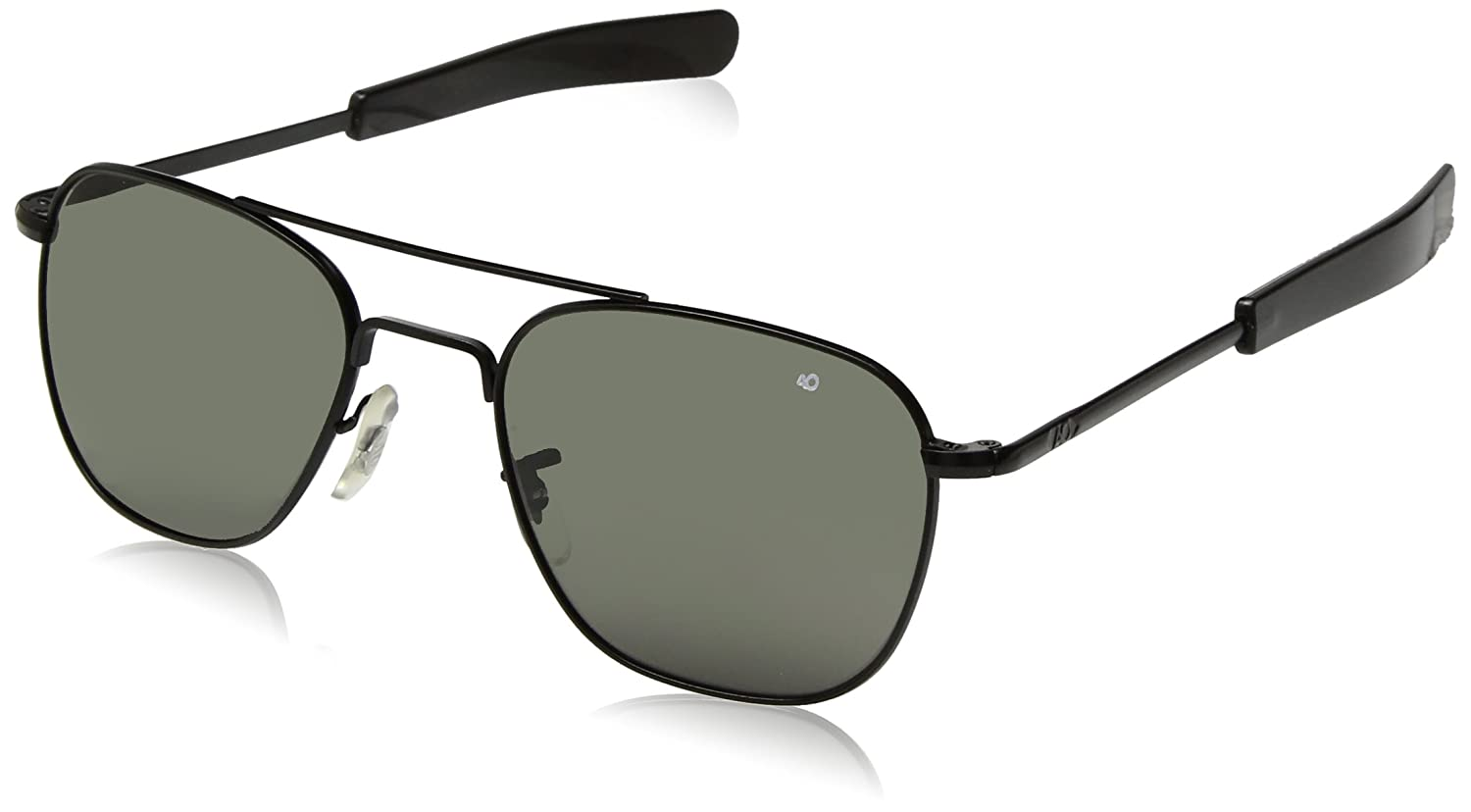 Amazon.com  AO Eyewear Original Pilot Sunglasses 55mm Gray Non-Polarized  Polycarbonate Lenses  Sports   Outdoors cb012db0391