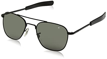 Amazon.com  AO Eyewear Original Pilot Sunglasses 55mm Gray Non ... 55d5e055a55