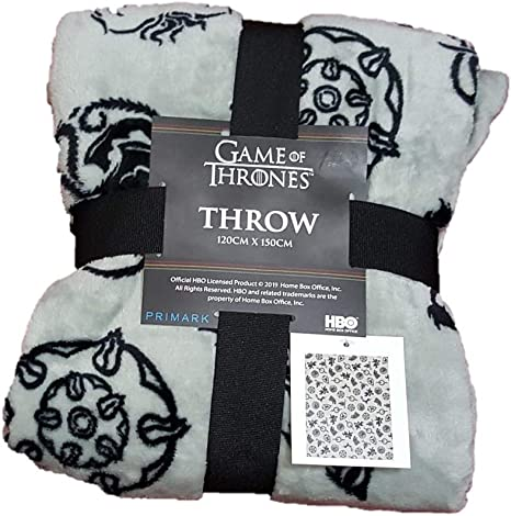 HBO GAME OF THRONES Single// Double King Duvet Set or Throw or Cushions