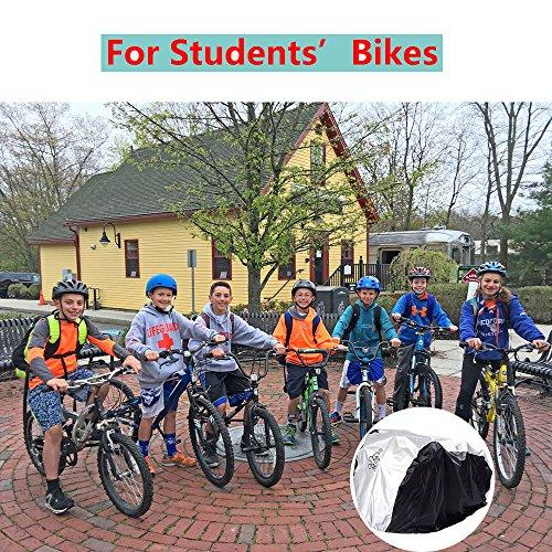 Funda Bicicleta Fundas para Bicicletas Impermeable Funda de Protección Bicicleta Exterior Grandes de Montaña para 2 Bicicleta+2PCS Etiquetas Engomadas ...