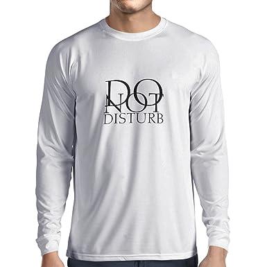 Amazoncom Lepnime Long Sleeve T Shirt Men Do Not Disturb Funny